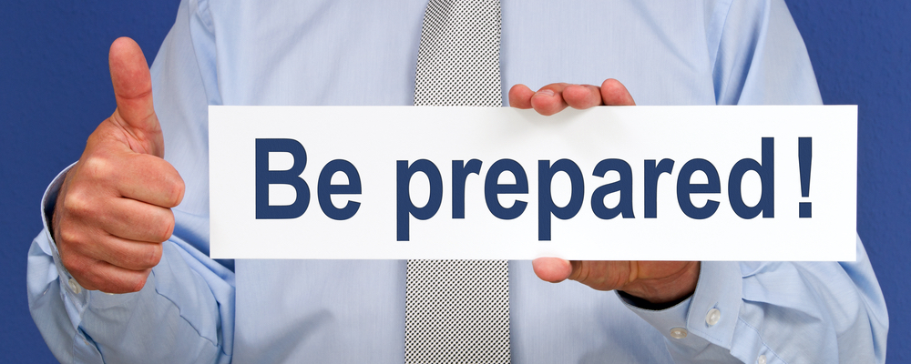 be prepared workers compensation